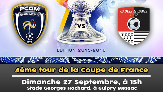 coupe de france derby face au cadets bains football club guipry messac. Black Bedroom Furniture Sets. Home Design Ideas
