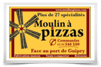 Moulin à pizza